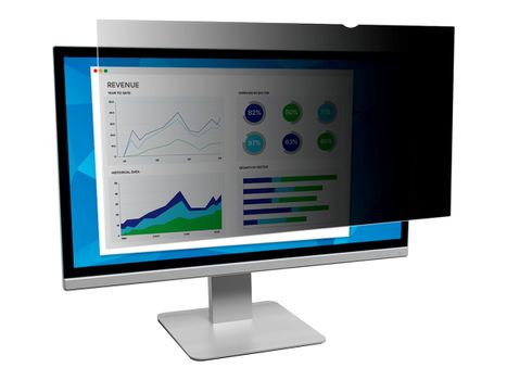 """3M personvernfilter for OptiPlex 7440 All-In-One , 7450 All-In-One 23.8"""" Monitors 16:9 - personvernfilter for skjerm (PFMDE003)"""