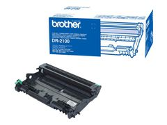 Brother DR-2100 - Trommelsett - for Brother DCP-7030, 7040, 7045, HL-2140, 2150, 2170, MFC-7320, 7440, 7840; Justio DCP-7040
