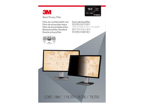"""3M personvernfilter for 19"""" Monitors 16:10 - personvernfilter for skjerm - 19"""" bredde (PF190W1B)"""