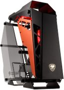 COUGAR Case Conquer Mid tower Tempered glass cover 3 LED fan
