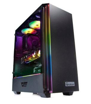 Multicom Jorah A627R Gaming PC AMD Ryzen 5 5600X, 16GB DDR4 RAM, 500GB PCIe SSD, 2TB HDD, GeForce RTX 3070 8GB, 700W, uten operativsystem