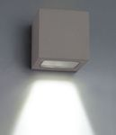 BA Vegglys - Utendørs, LED, 100X100X100mm, Sort