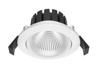 BA Aurora 8W LED downlight matt hvit