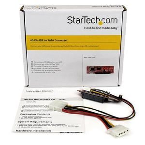 STARTECH IDE 40-pin to SATA Adapter Converter w/ HDD/ SSD/ ODD Support 	 (IDE2SAT2)