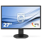PHILIPS 272B8QJEB/ 23 27inch 2560X1440 IPS 5 ms GtG HAS DP/ HDMI/ DVI/ VGA USB HUB Speakers VESA (272B8QJEB/ 23)