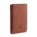 WOOLNUT PASSPORT SLEEVE COGNAC BROWN ACCS