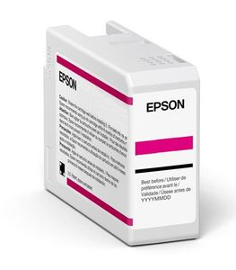 EPSON Singlepack Vivid Magenta T47A3 UltraChrome Pro 10 ink 50ml (C13T47A300)