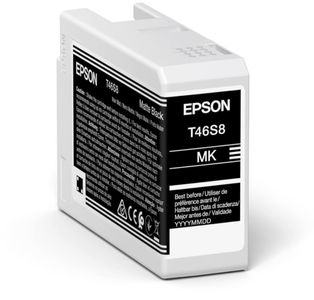 EPSON Singlepack Matte Black T46S8 UltraChrome Pro 10 ink 26ml (C13T46S800)