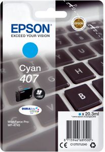 EPSON WF-4745 Ink Cartridge L Cyan Ink (C13T07U240)