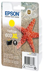 EPSON Singlepack Yellow 603XL Ink (C13T03A44020)