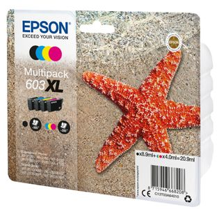 EPSON Multipack 4-colours 603XL Ink (C13T03A64020)