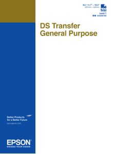 EPSON DS Transfer General Purpose A3 Sheets (C13S400077)