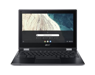 ACER ChromeBook R752T-C3Q6 Intel Celeron N4020 11.6inch HD Multi-Touch LCD panel 4GB eMMC 32GB Black Chrome 1YW (NX.HPWED.001)