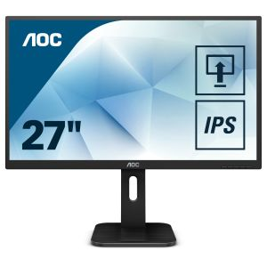 AOC 27P1 27inch display screen real estate with accurate colours in 1920x1080 resolution thanks IPS panel (27P1)