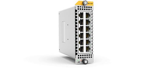 Allied Telesis ALLIED 12 x 10GBase-T ports line card for SBx908Gen2. 1 year NCP support (AT-XEM2-12XT-B01)