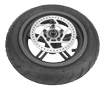 Scooter Rear wheel Anti-puncture tires disc brake platd