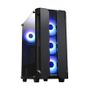 CHIEFTEC Hunter gaming chassis ATX Black