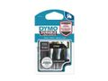 DYMO D1 Durable 12 mm x 3 M, White on Black