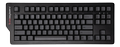 DASKEY Keyboard 4C TKL, 87 keys, PBT keycaps, MX Brown, black