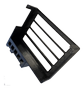 WINTHER ER-X router DIN mount 3D printed black plastic