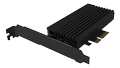 ICY BOX PCIe card, 1x M.2 PCIe (NVMe) SSD to PCIe 4.0 x4 up to 64 Gbit/s RGB