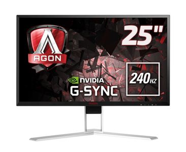 AOC AG251FG 25IN TN 240HZ 1920X1080 16:9 BLACK             IN MNTR (AG251Fg)