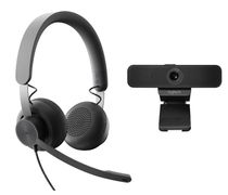 LOGITECH WIRED PERSONAL VC TEAMS KIT GRAPHITE USB PLUGA EMEA TEAMS    IN ACCS