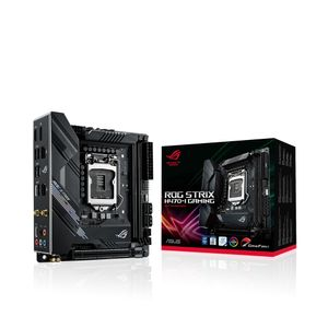 ASUS ROG STRIX H470-I GAMING Intel Socket LGA1200 Mini-ITX DDR4 (90MB12U0-M0EAY0)