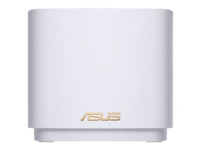 ASUS ZENWIFI AX MINI (XD4) AX1800 WIFI SYSTEM WHITE PACK OF 2 PCS  IN WRLS (90IG05N0-MO3R40)