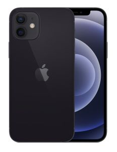"APPLE iPhone 12 128GB 6.1"" - Black (5G) (MGJA3QN/A)"