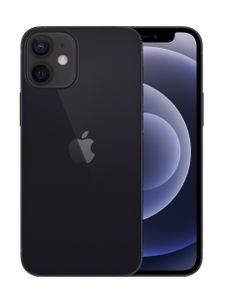 "APPLE iPhone 12 mini 128GB 5.4"" - Black (5G) (MGE33QN/A)"