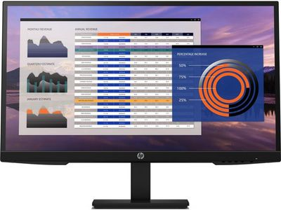 HP P27h G4 27inch FHD Height Adjust Monitor (7VH95AA#ABB)