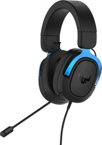 ASUS TUF H3 Gaming Headset for PC, MAC, PS4 - Blue (90YH029B-B1UA00)