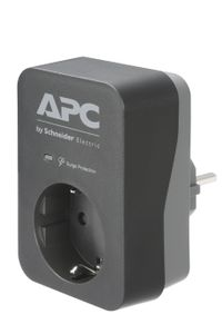 APC ESSENTIAL SURGEARREST 1 OUTLET BLACK 230V GERMANY (PME1WB-GR)