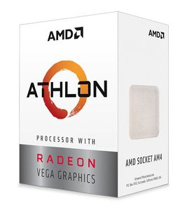 AMD Athlon 3000G Radeon Vega 3 Graphics (YD3000C6FHBOX)