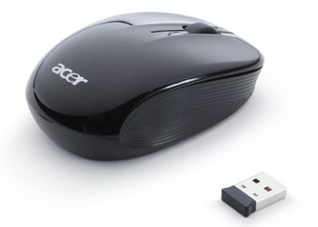 ACER Mouse WL Acer RF2.4 optical black AMR910 (NP.MCE11.00T)