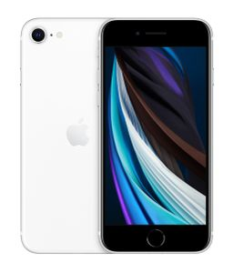 APPLE iPhone SE 64GB (2020) white EU [excl. EarPods + USB Adapter] (MHGQ3FS/A)
