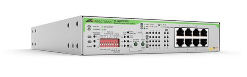 Allied Telesis 8X UNMANAGED P +SWITCH WITHT PSU EU PC D (AT-GS920/8PS-50)