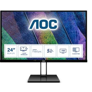 AOC 60,5cm (23,8) 24V2Q    16:09  HDMI+DP IPS black (24V2Q)