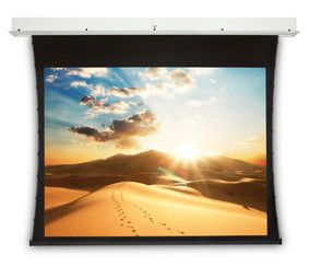 PROJECTA Projecta Tensioned Descender RF Electrol 128x170 Video (4:3) Matte White (10100901)