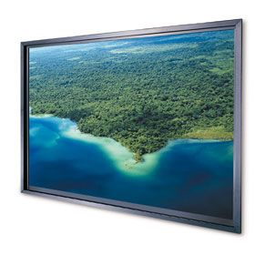 Da-Lite Rear Projection Screens (Standard Frame) 138x181 Video (4:3) Da-Plex 100