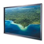 Da-Lite Rear Projection Screens (Self-trimming Frame) 208x367 HDTV (16:9) Da-Ple