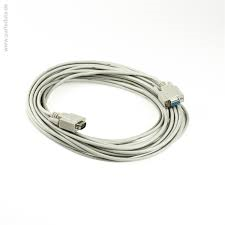 "Styrkabel RS232 20m - 9-pin D-SUB hona - ""open end"""