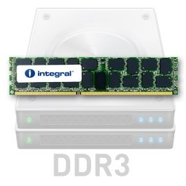 INTEGRAL 4GB DDR3 PC3-10600 1333MHz ECC Registered Single Rank 3rd Party DIMM Low Voltage (IN3T4GRZGIX1LV)