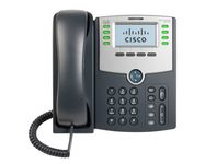 8-LINE IP PHONE 2-PORT POE + LCD DISPLAY
