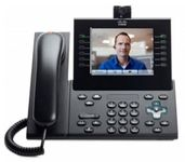 Cisco UC Phone 9971, Charcoal, Std Hndst with Came / New