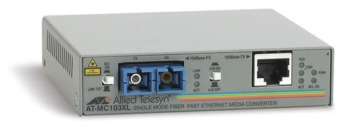 Allied Telesis Konverter 100TX auf 100FX (SC) Single-Mode (AT-MC103XL-60)