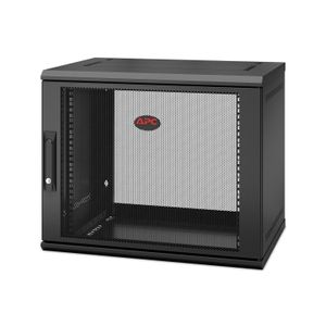 APC NetShelter WX 9U Single Hinged Wall-mount Enclosure,  Mounting Depth 400mm (AR109SH4)