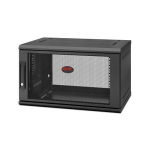 APC NetShelter WX 6U Single Hinged Wall-mount Enclosure,  Mounting Depth 400mm (AR106SH4)