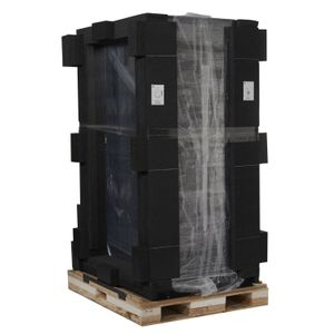 APC NetShelter SX 42U 600mm Wide x 1070mm Deep Enclosure with Sides Black -2000 lbs. Shock Packaging (AR3100SP)